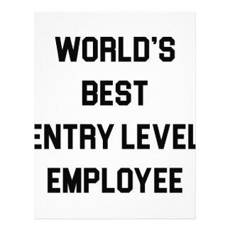 Best Entry Level Employee Letterhead