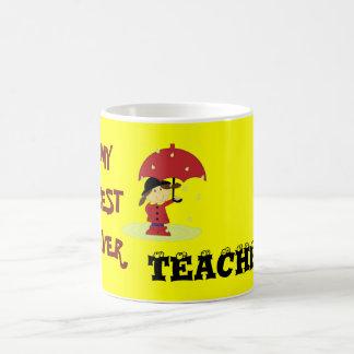Best Ever Teacher Coffee Mug