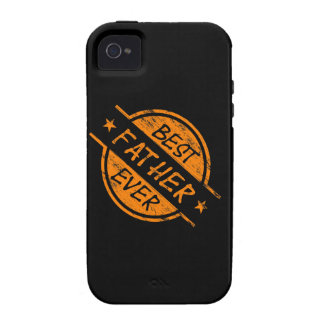 Best Father Ever Orange iPhone 4/4S Cases