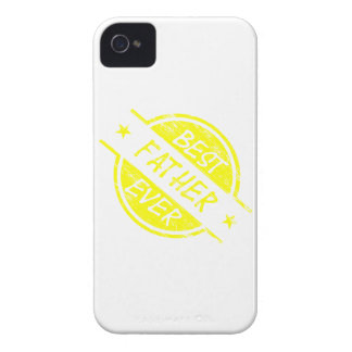 Best Father Ever Yellow.png iPhone 4 Case-Mate Case