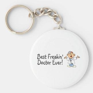 Best Feakin Doctor Ever Basic Round Button Keychain