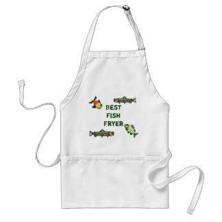 Best Fish Fryer Apron   Customize It!