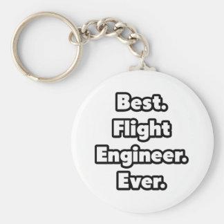 Best. Flight Engineer. Ever. Basic Round Button Keychain