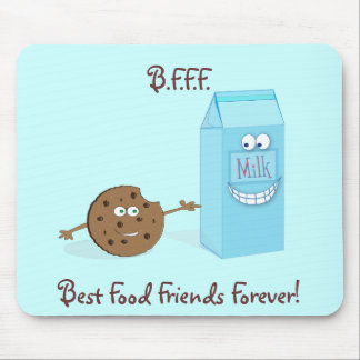 Best Food Friends Forever Mousepad