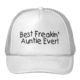 Best Freakin Auntie Ever 2 Trucker Hat