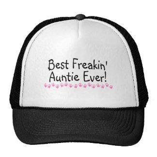 Best Freakin Auntie Every Trucker Hat