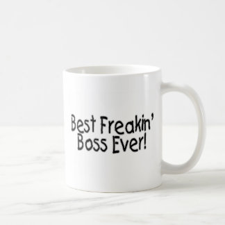 Best Freakin Boss Ever Classic White Coffee Mug