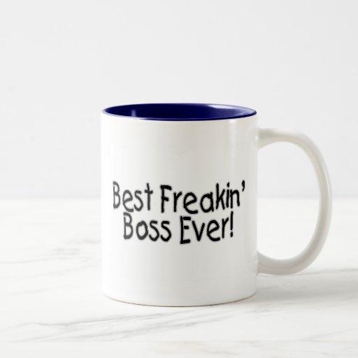 Best Freakin Boss Ever Mugs
