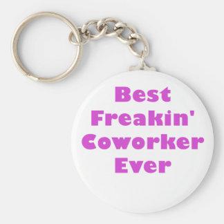 Best Freakin Coworker Ever Basic Round Button Keychain