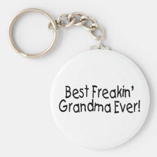 Best Freakin Grandma Ever 2 Keychain