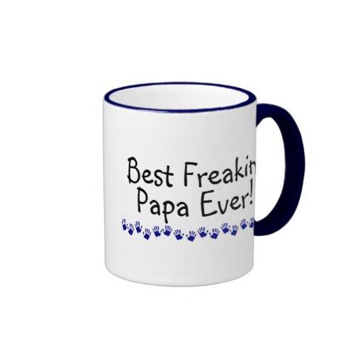 Best Freakin Papa Ever Coffee Mugs