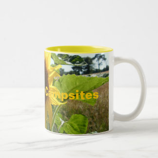 Best French Campsites Sunflower Mug