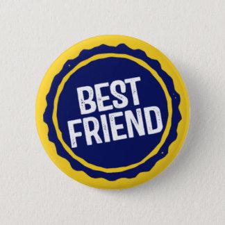 Best Friend. 2 Inch Round Button