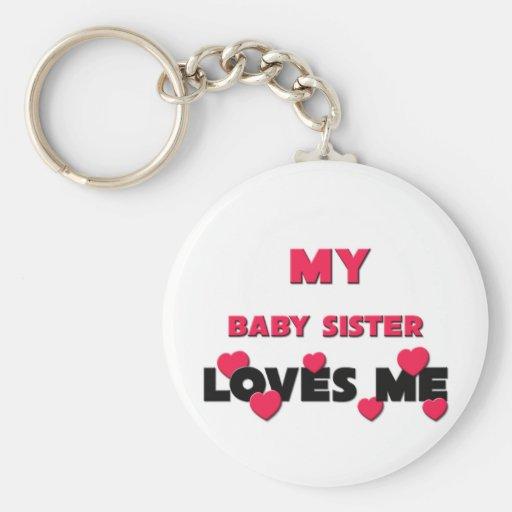 Best Friend Baby Sister Keychains