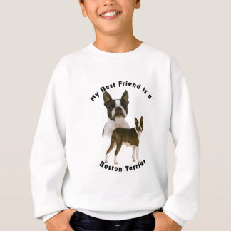 Best Friend Boston Terrier Sweatshirt