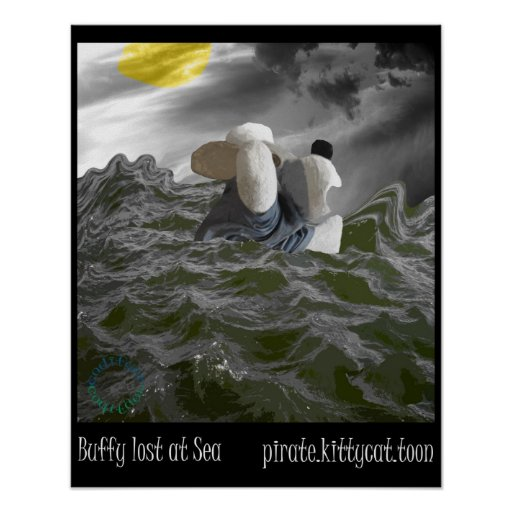 Best Friend Buffy Lost at Sea Poster