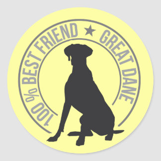Best Friend Classic Round Sticker