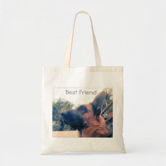 Best Friend. Dog. Tote Bag