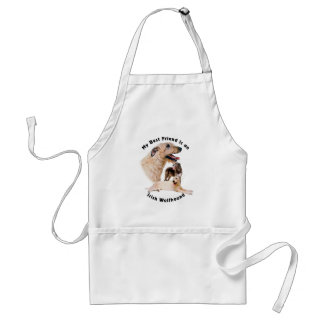 Best friend Irish Wolfhound Standard Apron