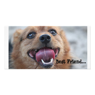 Best Friend Photo Card Template