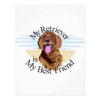 Best Friend Retriever Letterhead