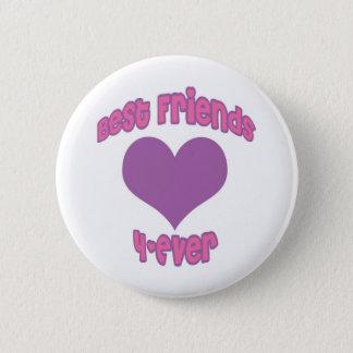 Best Friends 4-Ever 2 Inch Round Button