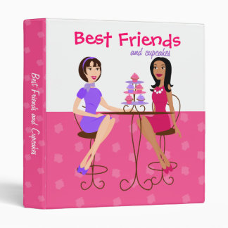 Best Friends and Cupcakes Binder