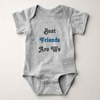 Best Friends Are We! Twin set (Part 1 of 2) Baby Bodysuit