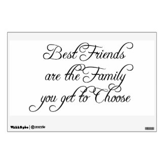 Best Friends Are Wisdom Wall Decal
