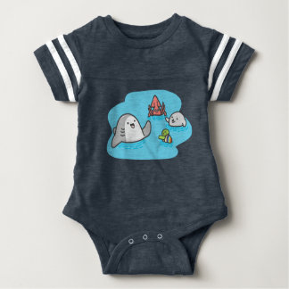 Best Friends Baby Football Bodysuit