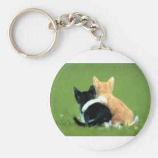 Best Friends, Brothers, Sisters Basic Round Button Keychain