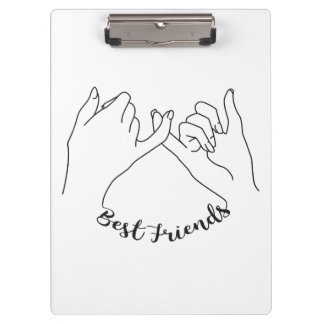 Best Friends Clipboard