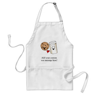 Best Friends, Cookies Love Milk Standard Apron