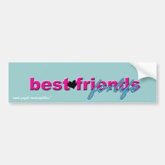 """""""Best Friends for Life"""" Bumper Sticker"""