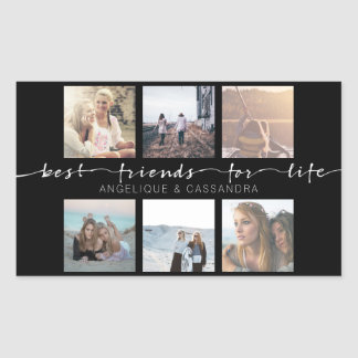 Best Friends for Life Instagram Photo Typography Sticker