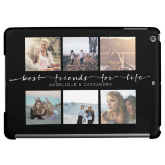 Best Friends for Life Typography Instagram Photos iPad Air Cases