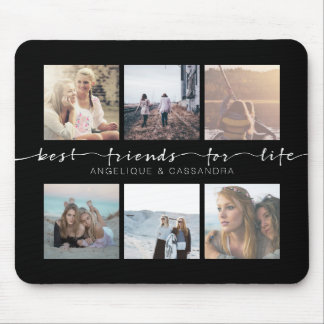 Best Friends for Life Typography Instagram Photos Mouse Pad