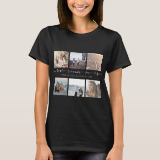 Best Friends for Life Typography Instagram Photos T-Shirt
