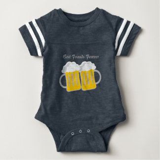 Best Friends Forever Baby Bodysuit