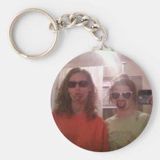 best friends forever! basic round button keychain