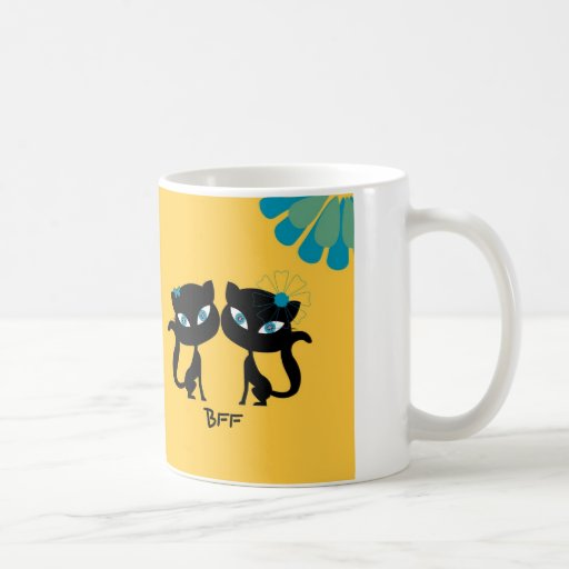 Best Friends Forever (BFF), I love Cats! Mug