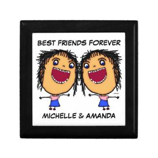 Best Friends Forever Cartoon Gift Box