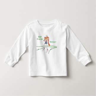 Best Friends Forever Cat T-Shirt for Toddlers