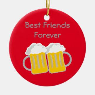 Best Friends Forever Ceramic Ornament