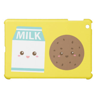Best Friends Forever, Cute Milk and Cookies iPad Mini Covers