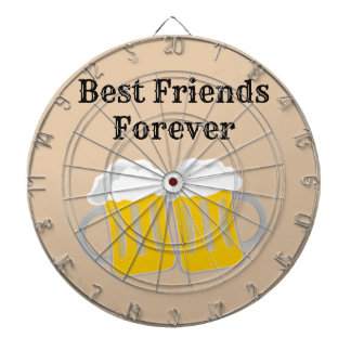 Best Friends Forever Dartboard