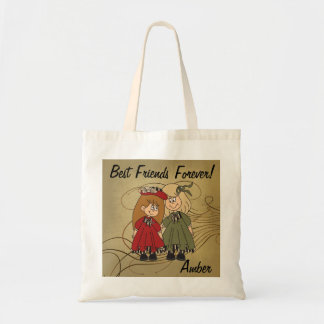 Best Friends Forever | DIY Name Tote Bag
