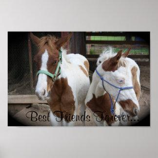 Best Friends Forever Foals Print