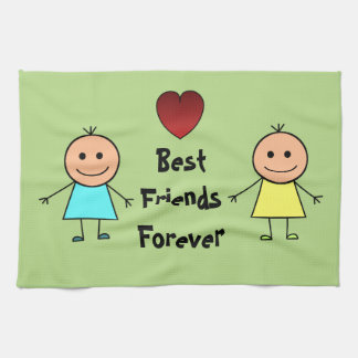 Best Friends Forever Kitchen Towel