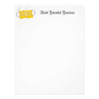 Best Friends Forever Letterhead